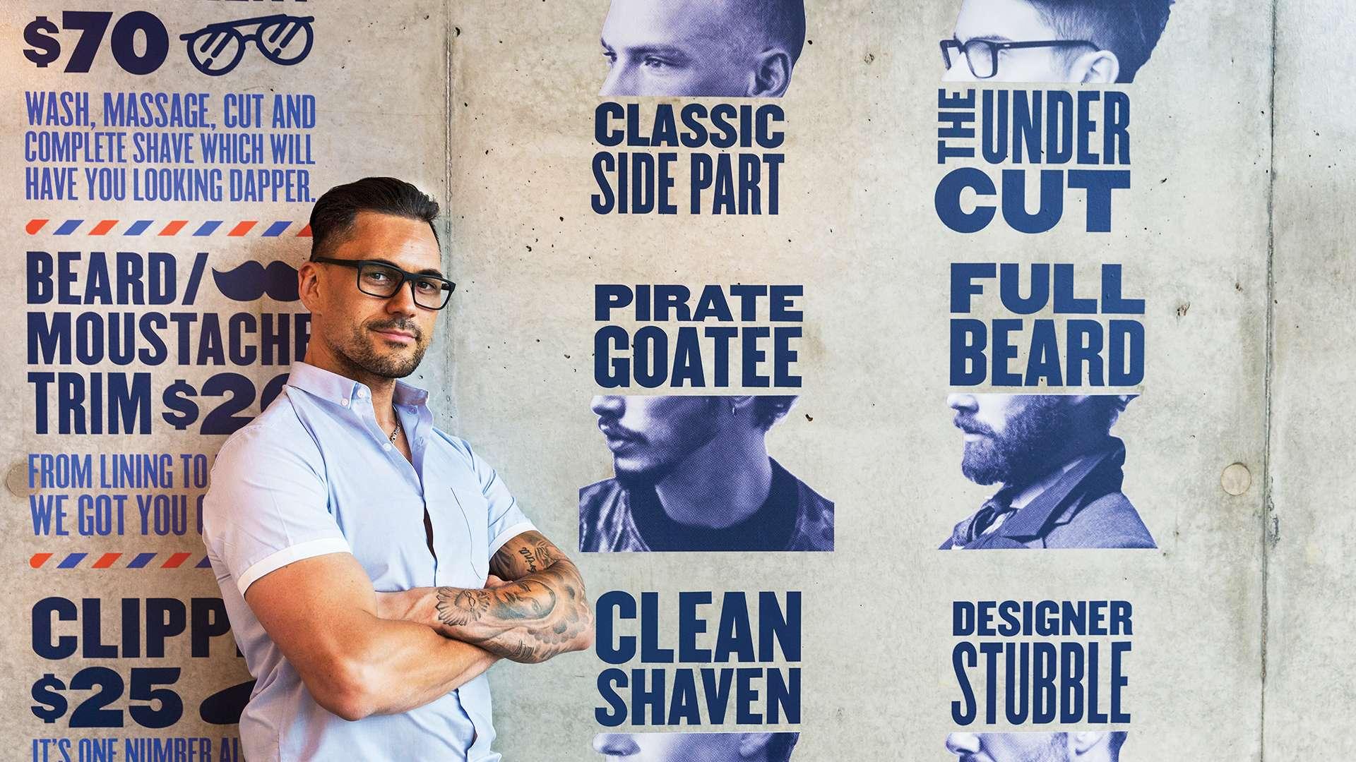 Dapper Gents Barber Shop Design